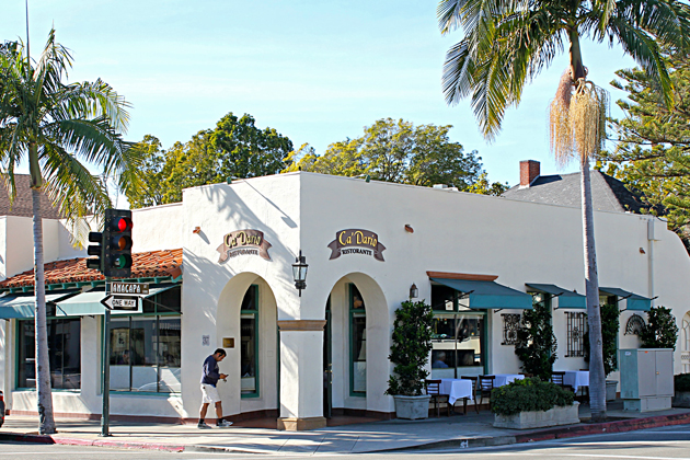 The Victoria Street building that houses Ca' Dario restaurant is now on Santa Barbara's historic resources list, despite opposition from a neighbor.