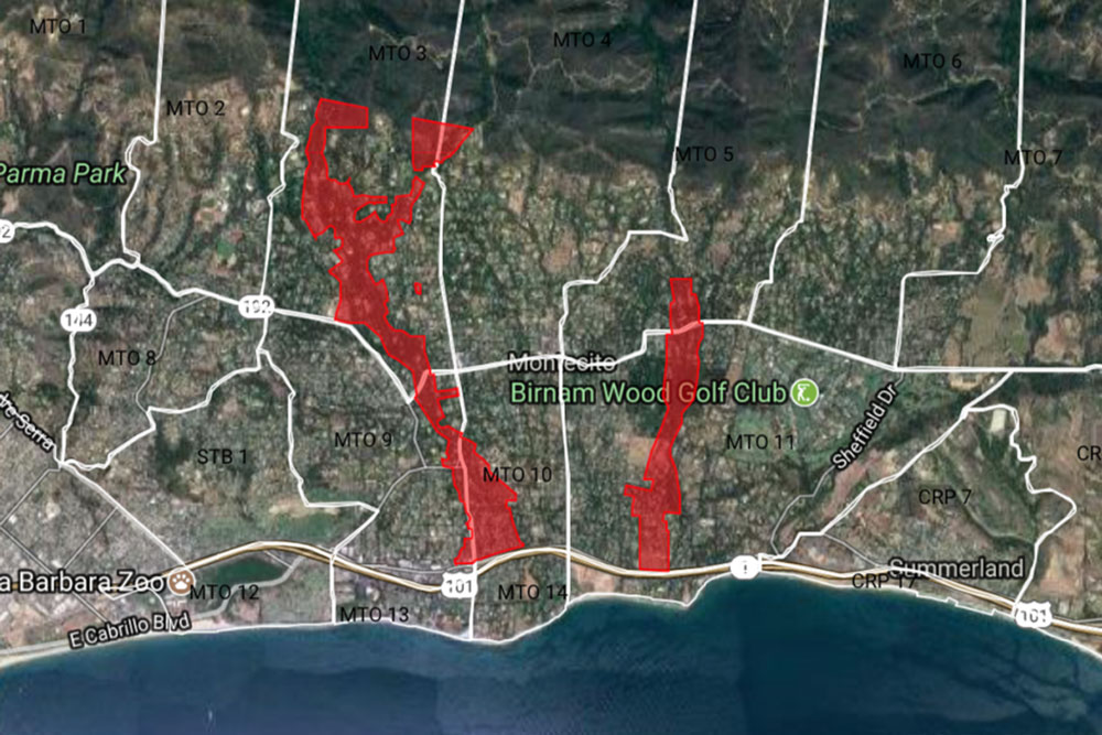 The remaining mandatory evacuation orders in Montecito were lifted at noon Saturday. The exclusion zones along affected creeks are open only to residents, business owners and those conducting official business in the area.