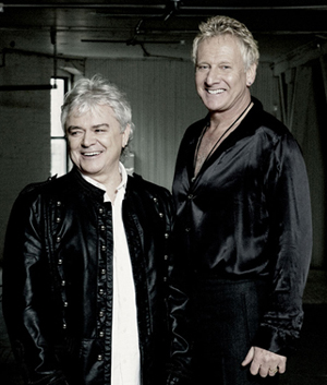 Air Supply's Graham Russell and Russell Hitchcock.