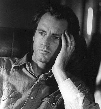 Playwright, actor, director and musician Sam Shepard won a Pulitzer Prize for <i>Buried Child</i>, next at the Ensemble.&#8221; width=&#8220;350&#8221; height=&#8220;377&#8221; /><div class=