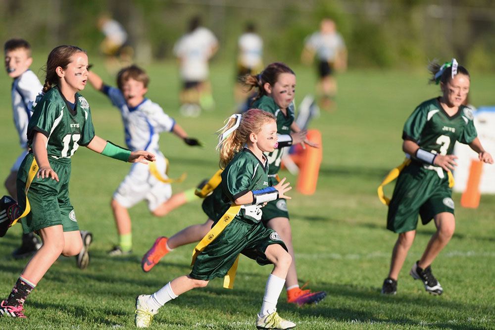 More than 300 boys and girls have signed up for flag football this spring, but may not be able to play if the Friday Night Lights youth organization doesn't find a new field.
