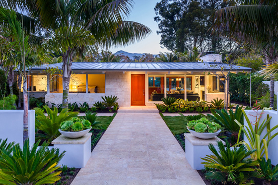 <p>Allen Associates was honored for its whole-house remodel of this home in the Butterfly Beach neighborhood of Montecito that transformed a classic, 1950s California ranch-style beach bungalow into a modern villa retreat.</p>