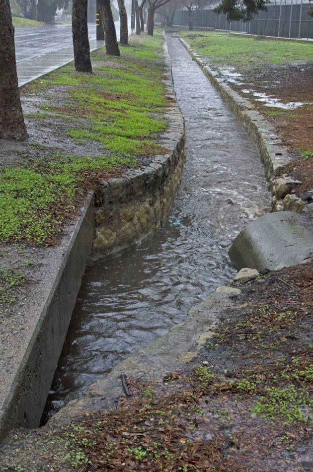 Agencies issue warnings for flash floods, roadway flooding and thunderstorms Sunday as rain hammers the Central Coast.