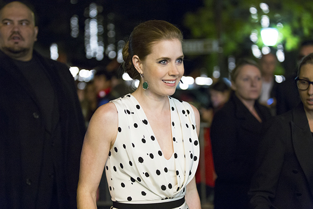 <p>Actress Amy Adams arrives Thursday night at the Santa Barbara Film Festival, where she was honored with the Cinema Vanguard Award.</p>