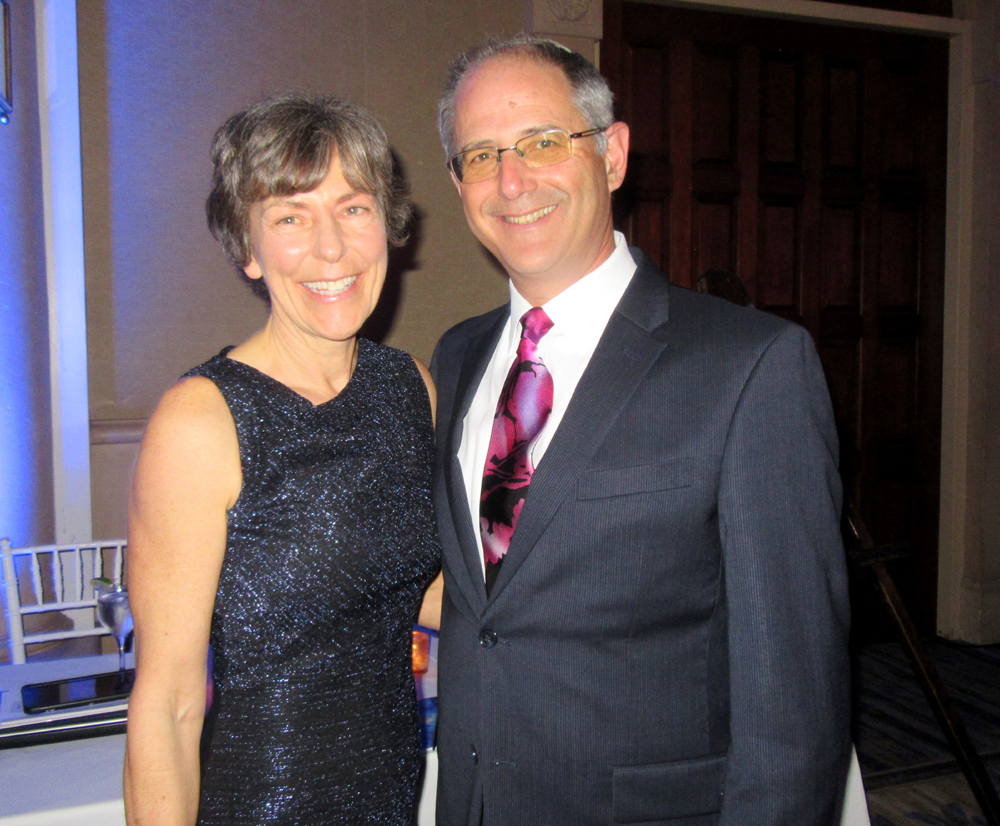 Rabbi Stephen Cohen and wife Marian.