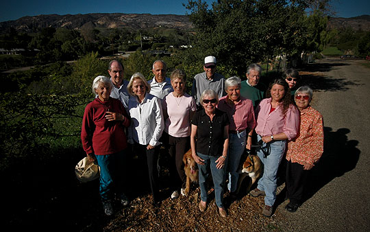 The foothills neighborhood along North Fairview Avenue is close to the hustle and bustle of Goleta but has a rural, bucolic feel. That's just the way residents like it and many have come together to fight the city's Sphere of Inluence plans.