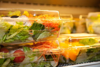 The Courtyard Café and the Coral Tree Café at UCSB sell reusable to-go containers that customers can return to receive a 10-cent discount.