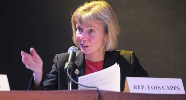 Rep. Lois Capps, D-Santa Barbara, who has represented the Central Coast in Congress for the last 13 years, has announced plans to seek election in the newly drawn 24th District.