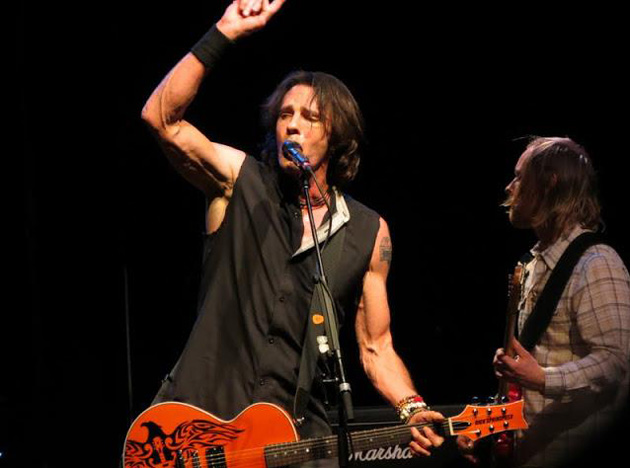 <p>Australian pop rocker Rick Springfield performs a set during the &#8220;Sound City&#8221; concert Thursday night at the Hollywood Palladium. <a href=