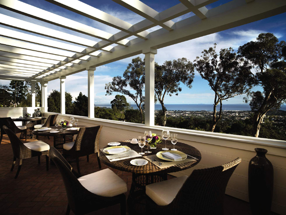 <p>Visitors to El Encanto can induldge in a five-course, Five-Star dinner for two in The Dining Room.</p>