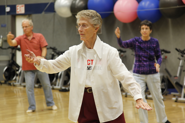 The Ventura Family YMCA provides a place for seniors connect with one another through exercise classes and group activities. (Ventura Family YMCA photo)