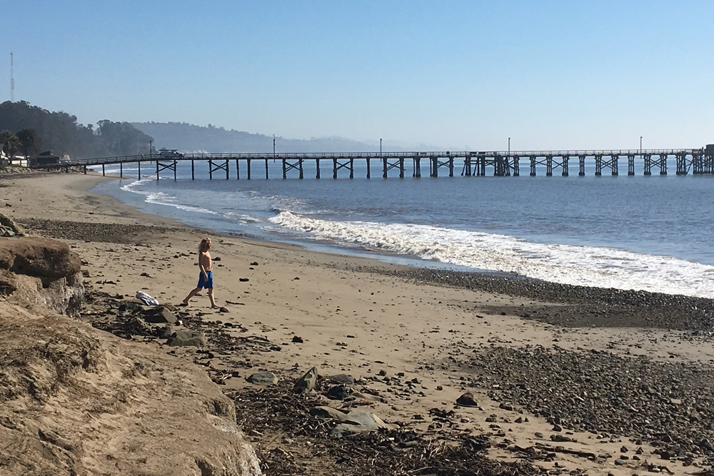 Digging out montecito means wider beaches dirtier waters off goleta theres a beach at goleta beach county park because the county is dumping mud there from publicscrutiny Choice Image