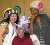 Staff and residents dress up for one of many theme days. (Villa Alamar photo)
