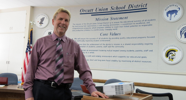<p>Orcutt Union School District Superintendent Bob Bush will retire June 30 after spending his entire education career — 42 years — working in his hometown district.</p>