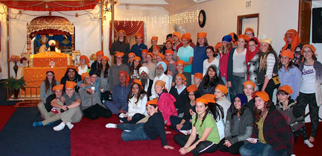 <p>After a week of exploration, Anacapa School students enjoyed a traditional meal courtesy of the Sikh Gurdwara of Ventura County.</p>