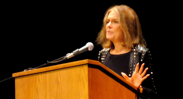 <p>Feminist, activist and author Gloria Steinem speaks Thursday night at the Arlington Theatre in Santa Barbara.</p>