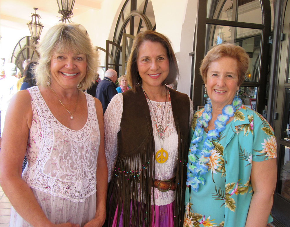 Event chair Pamela Vander Heide, left, with Event Committee members Penny Mathison and Dana VanderMey.