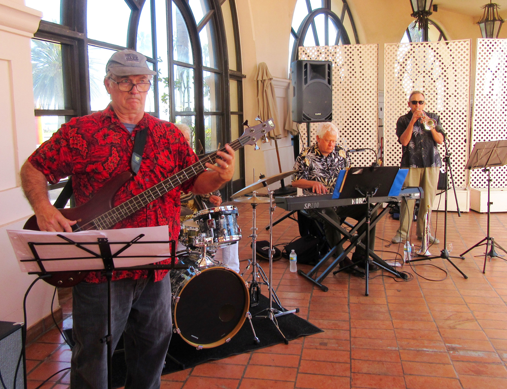 The Montecito Jazz Project played '60s tunes.
