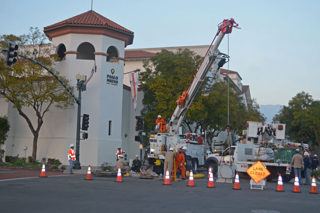 Downtown Power Outage Forces Santa Barbara Businesses to
