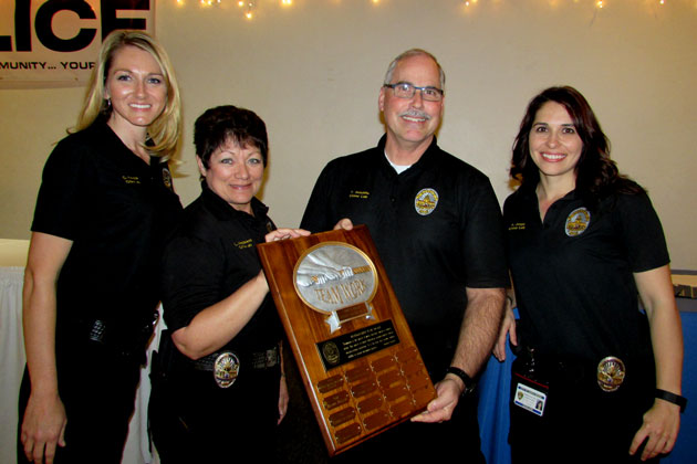 Santa maria police spotlight top officer crime scene specialists the santa maria police departments crime lab staff received the distinguished team award at the agencys spiritdancerdesigns Gallery