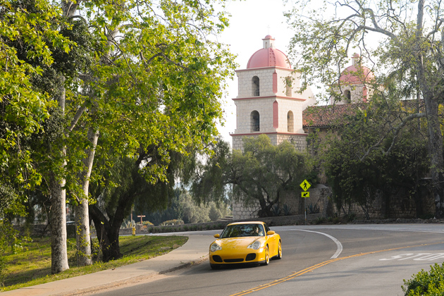 Santa Barbara's Mission Canyon corridor is the subject of proposed improvement plans for pedestrian, bicyclist and driver safety.
