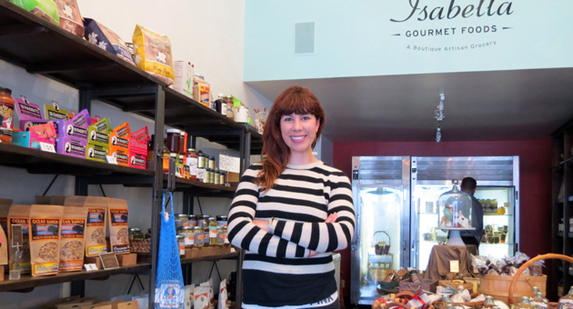 <p>Amy Chalker opened Isabella Gourmet Foods on Figueroa Street in Santa Barbara with a $10,000 micro-loan from Women&#8217;s Economic Ventures. Chalker is one of nearly 2,500 local entrepreneurs who have obtained financial support through WEV's microfinance lending program.</p>