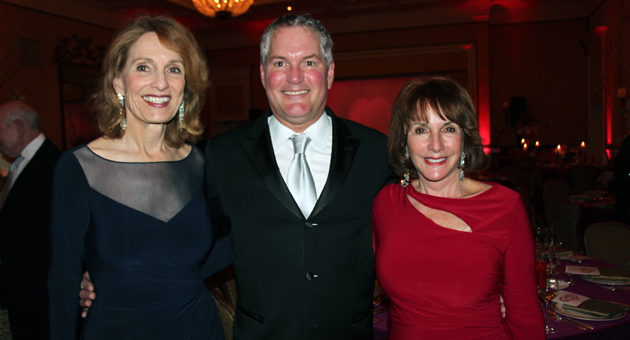 <p>Steven Sharpe, general director of Opera Santa Barbara, with event co-chairs Pat Anderson, left, and Sandy Urquhart at the &#8220;An Affair to Remember&#8221; benefit gala held on Valentine&#8217;s Day at the Four Seasons Resort The Biltmore Santa Barbara.</p>