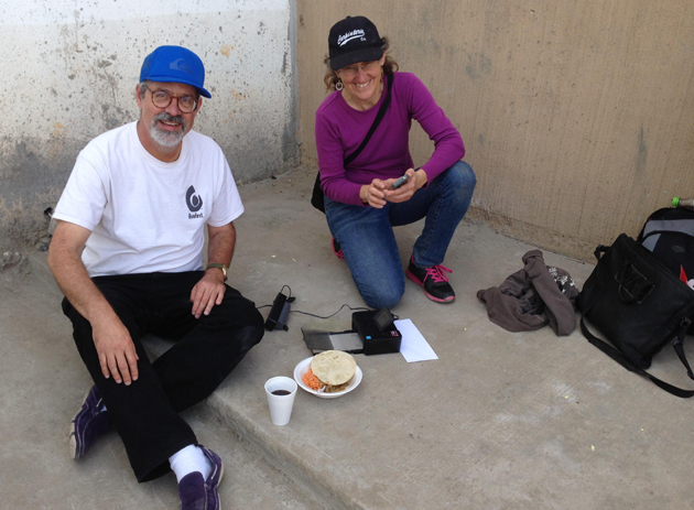 <p>Larry Nimmer and girlfriend Tara O'Reilly in Tijuana.</p>