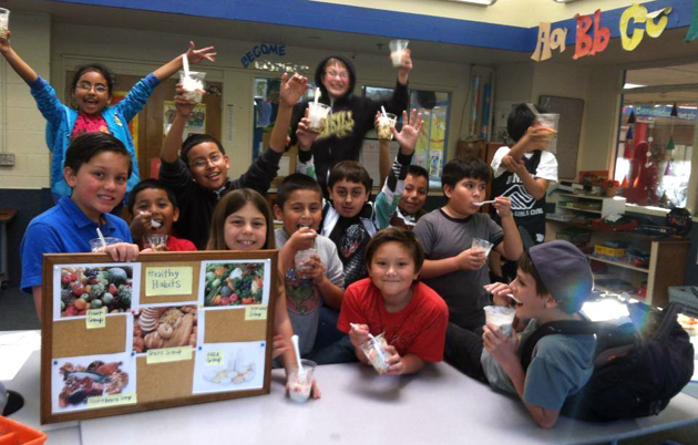 <p>Children in the United Boys &amp; Girls Club of Carpinteria learn about good nutrition through the club&#8217;s Healthy Habits Healthy Bees Program.</p>
