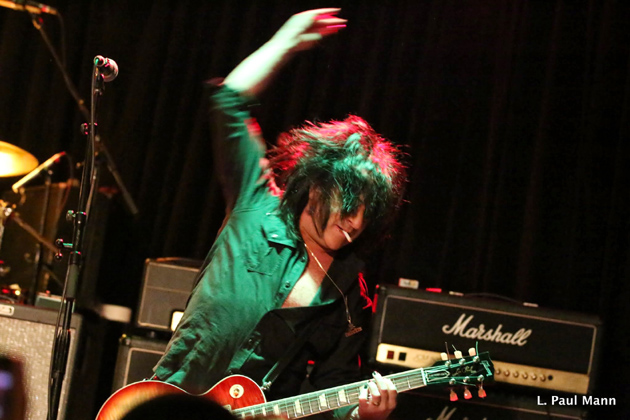 Guitarist Steve Stevens rocks it at the 2014 Rock Against MS event at the Whisky A Go Go in West Hollywood. Stevens will be among the return performers for this year's show on March 4.