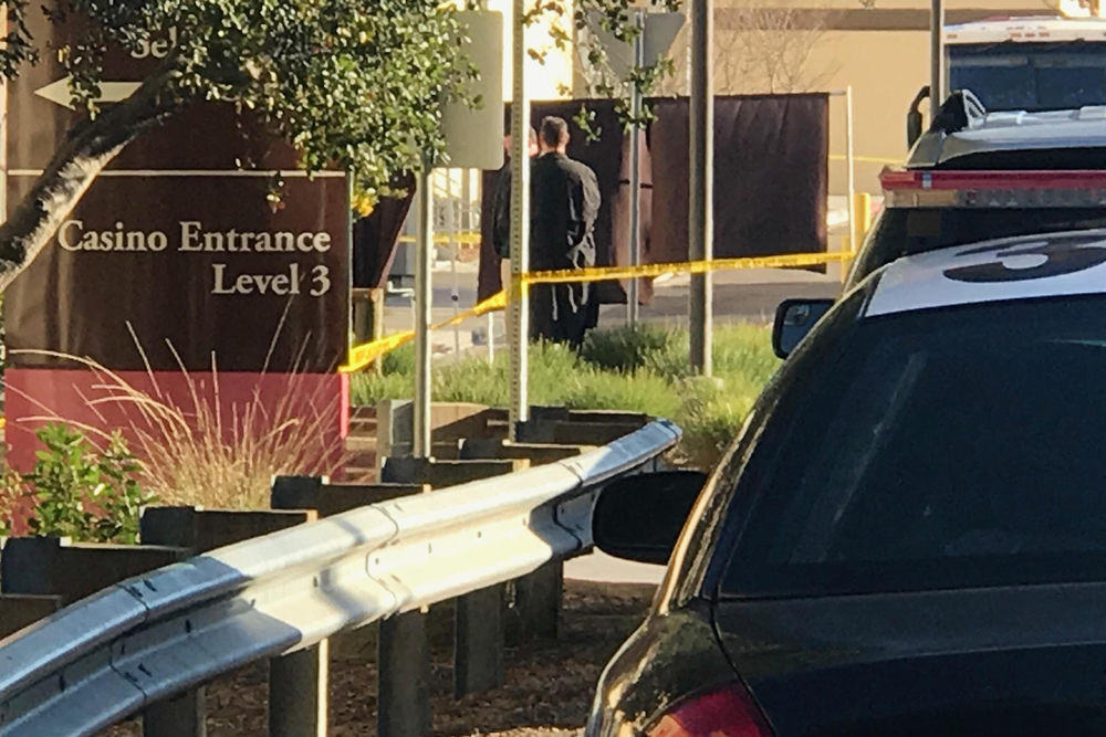 Investigators responded early Tuesday to a fatal shooting at the Chumash Casino Resort in Santa Ynez Tuesday.