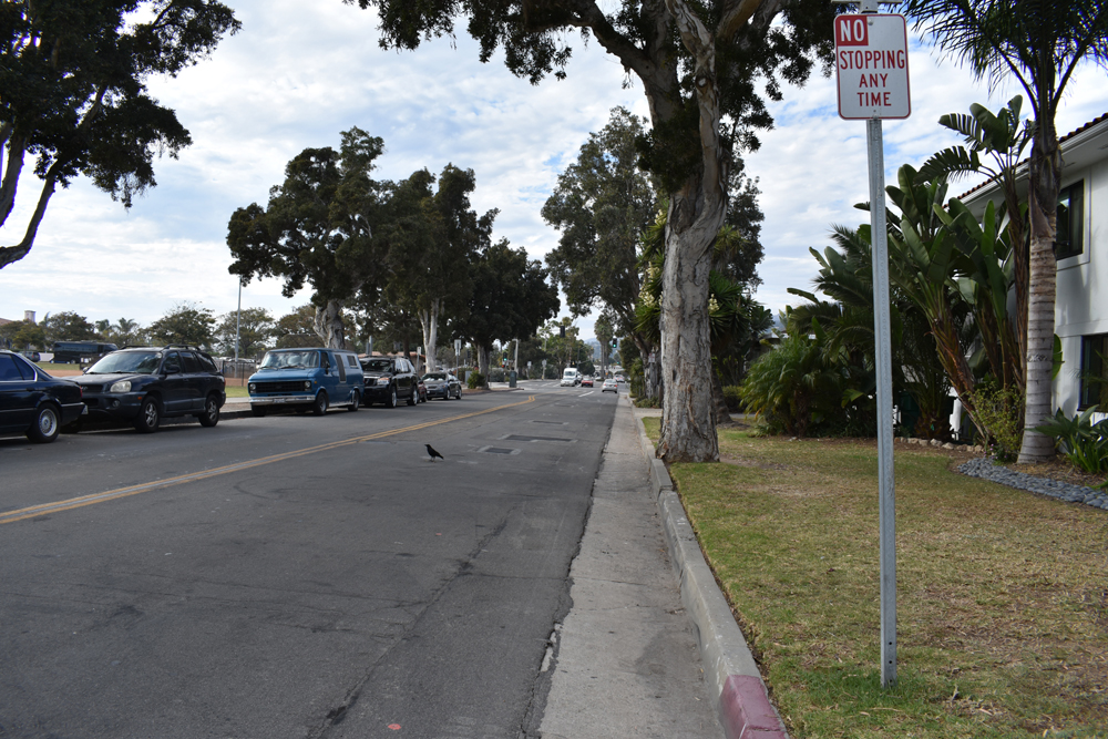The Milpas Street sidewalk and lighting project in Santa Barbara, slated to begin Monday, is designed to improve pedestrian safety and access.