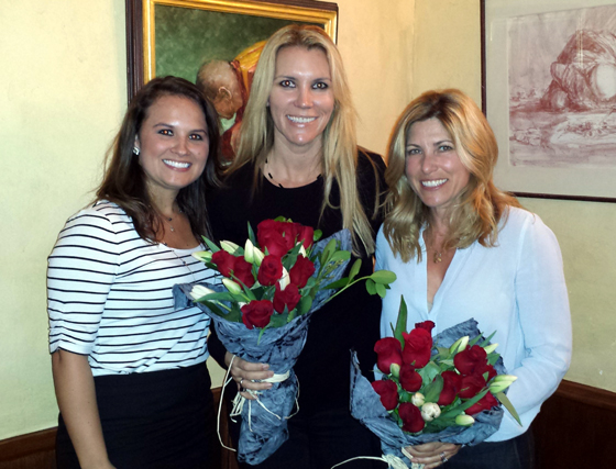 <p>A panel discussion at the University Club of Santa Barbara last Wednesday on the topic of &#8220;Leading with Grace&#8221; featured, from left, panel host Amy Ackerman of Alliance Wealth Strategies, and panelists Natalie Grubb-Campbell of Village Properties and Jill Levinson of the Children's Museum of Santa Barbara.</p>