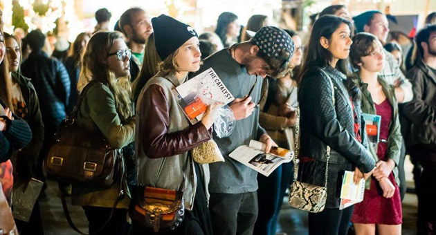 <p>Hundreds of UCSB students and Isla Vista residents showed up to last month&#8217;s launch party for The Catalyst, a reviatlized version of the college&#8217;s literary-arts magazine that hadn&#8217;t been published since 2007.</p>