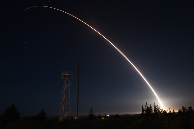 Minuteman Missile Marks Fifth Launch Of 2016 From