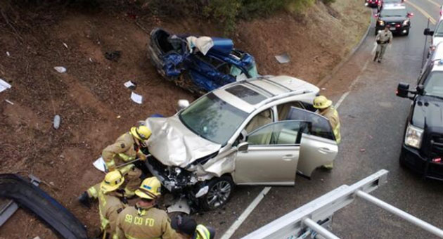 <p>One person was killed and another suffered minor injuries Wednesday afternoon in a head-on collision on Highway 154 near Santa Barbara.</p>