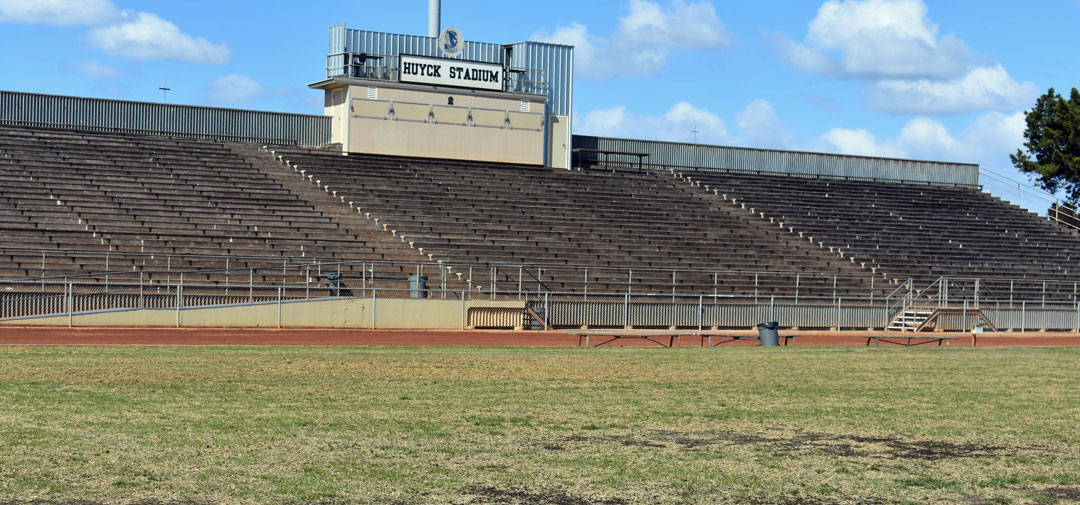 A $450,000 donation from the Santa Ynez Band of Chumash Indians Foundation provided a big boost for a campaign to renovate Huyck Stadium, a 54-year-old track and field that serves as the heart of Lompoc.