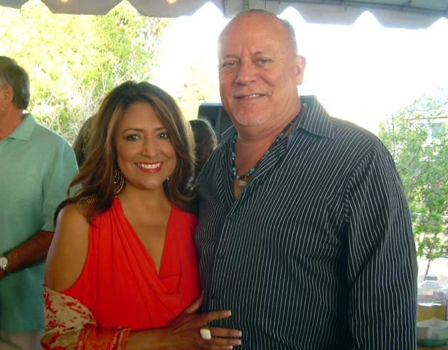 "KEYT News anchor Paula Lopez and her husband, Superior Court Judge Frank Ochoa, attend the Carpinteria Boys & Girls Club's Impact 2012: Making Connections Dinner & Auction in May 2012. Lopez was the focus of an eight-hour search Wednesday after being classified as an ""at-risk"" missing person who may have needed medical attention. (Rochelle Rose / Noozhawk file photo)"