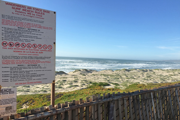 Beaches near Vandenberg Air Force Base have restricted access during western snowy plover nesting season and there have been 26 violations within the first month. If it hits 50, the beaches will be completely closed to visitors through September.