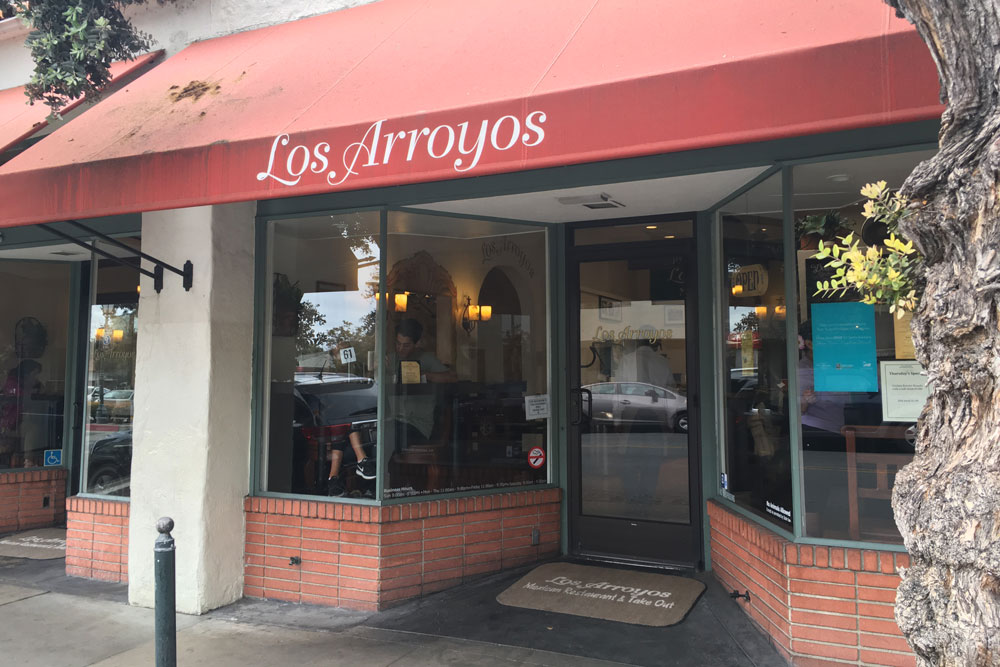 Los Arroyos Restaurant in downtown Santa Barbara is celebrating the beginning of its 20th year in business with a special $6 menu.