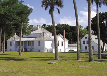 The Kingsley Plantation is one of many options for day trips within easy reach of the River City.