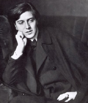 Alban Berg around the time he wrote his String Quartet.