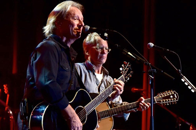 America band members Dewey Bunnell and Gerry Beckley perform Thursday at the Chumash Casino Resort.