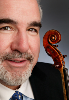 Violinist Glenn Dicterow