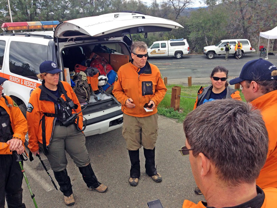 <p>Members of the Santa Barbara County Sheriff's Search &amp; Rescue Team prepare to participate in search test scenarios required for membership in the elite Mountain Rescue Association. (Santa Barbara County Sheriff's Search &amp; Rescue Team photo)</p>
