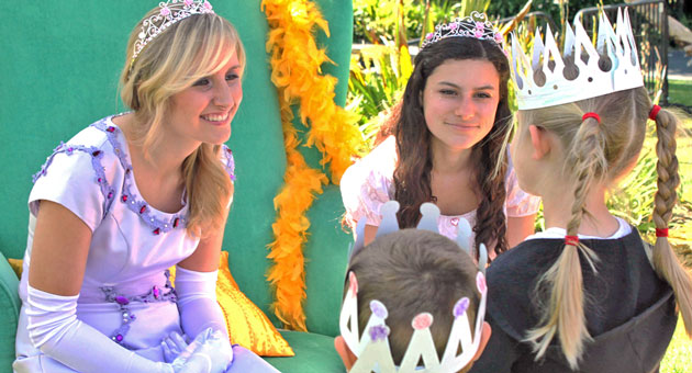 <p>Saturday is Princess Day at the Santa Barbara Zoo, reprising a popular event from last year, above.</p>