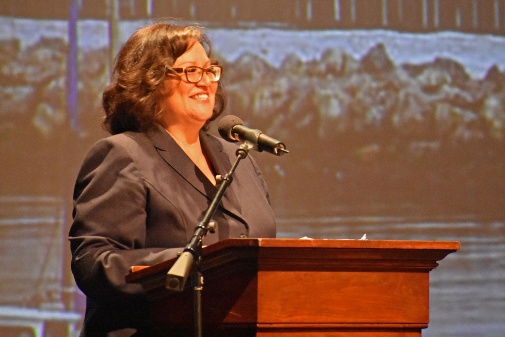 Newly elected Santa Barbara Mayor Cathy Murillo's delivered her first State of the City address on Thursday, focusing on issues including downtown State Street, desalination, environmental stewardship, economic vitality, the art scene and the post-disaster phase.