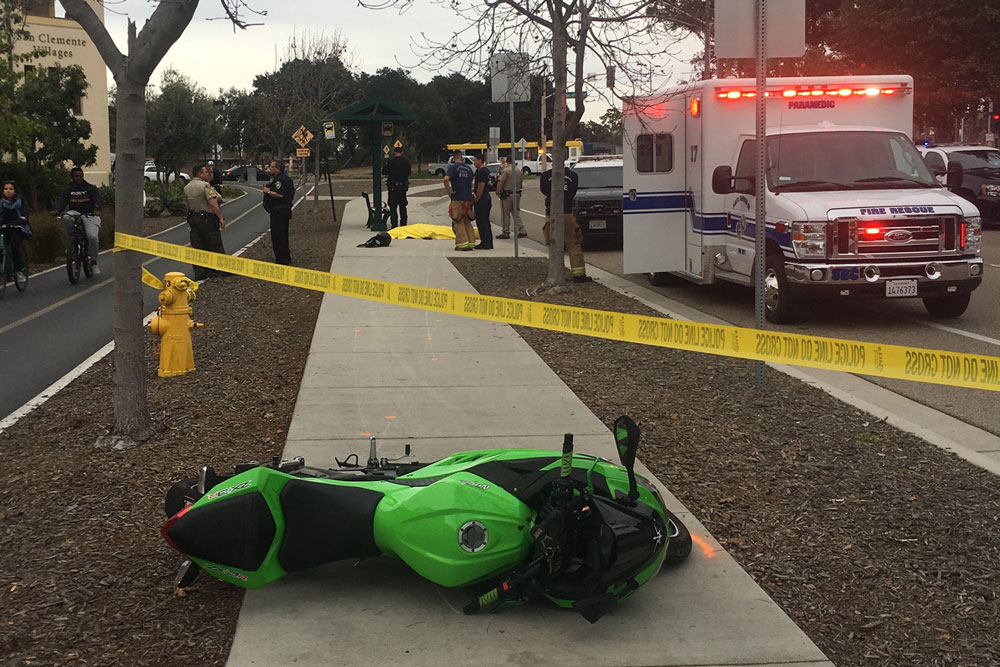 Authorities have released the name of a motorcyclist killed in a crash Friday in Isla Vista. UCSB student James Alexander Lu, 18, of Irvine was declared dead at the scen on El Colegio Road near the entranace to the university.