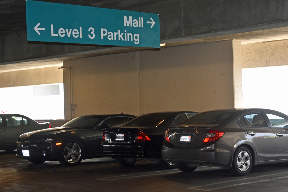 The city of Santa Maria is moving to adopt rules for its parking structures, including requiring drivers to park head-in.