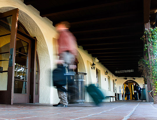 Increased passenger traffic and heightened homeland security concerns are the driving factors behind the Santa Barbara Airport's Airline Terminal Improvement Project, which is in the contract-bidding process.
